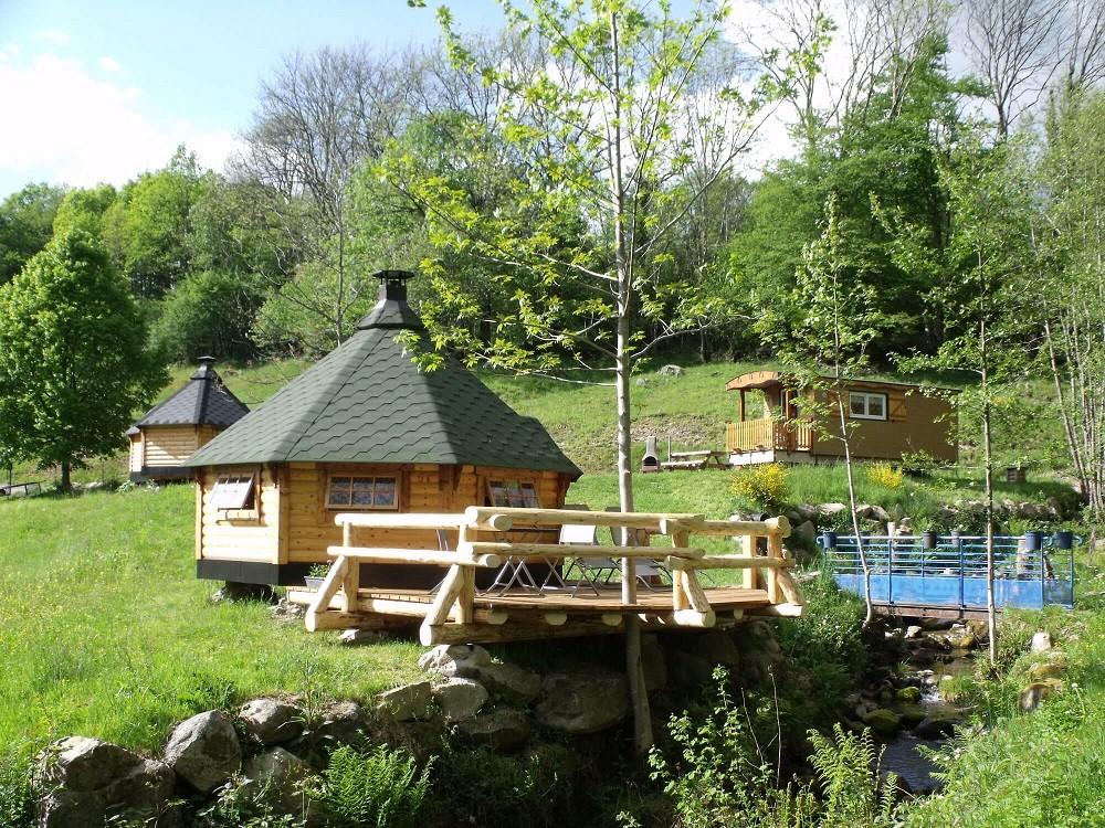 Cabane Kota dans les Vosges
